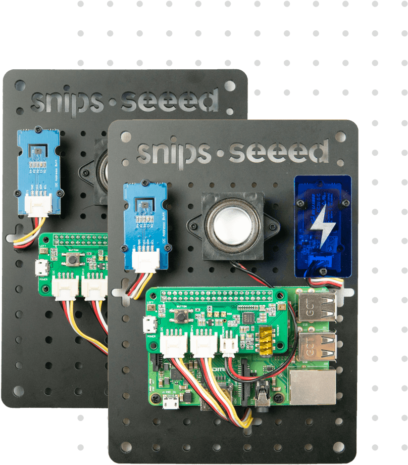 Snips and Seeed- Voice Interaction Development Kits